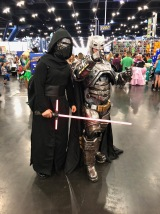 Star Wars's Kylo Ren and DC's Batman